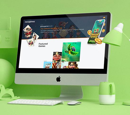 neogames | איפיון ועיצוב UI UX